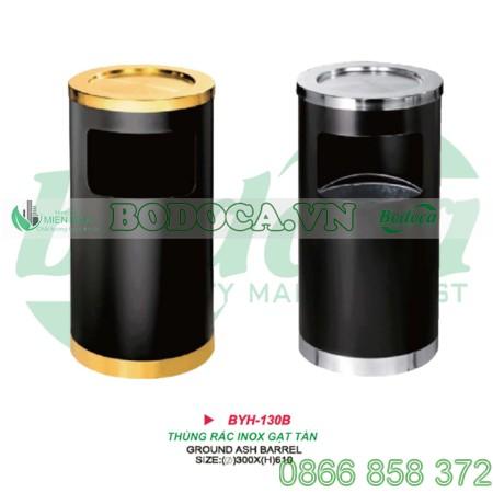 Thùng rác inox tròn BYH-130