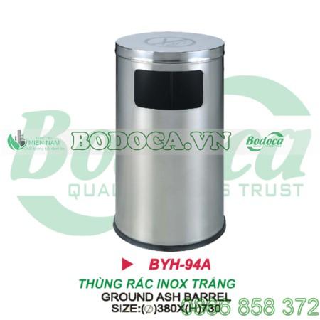 Giá thùng rác gạt tàn inox